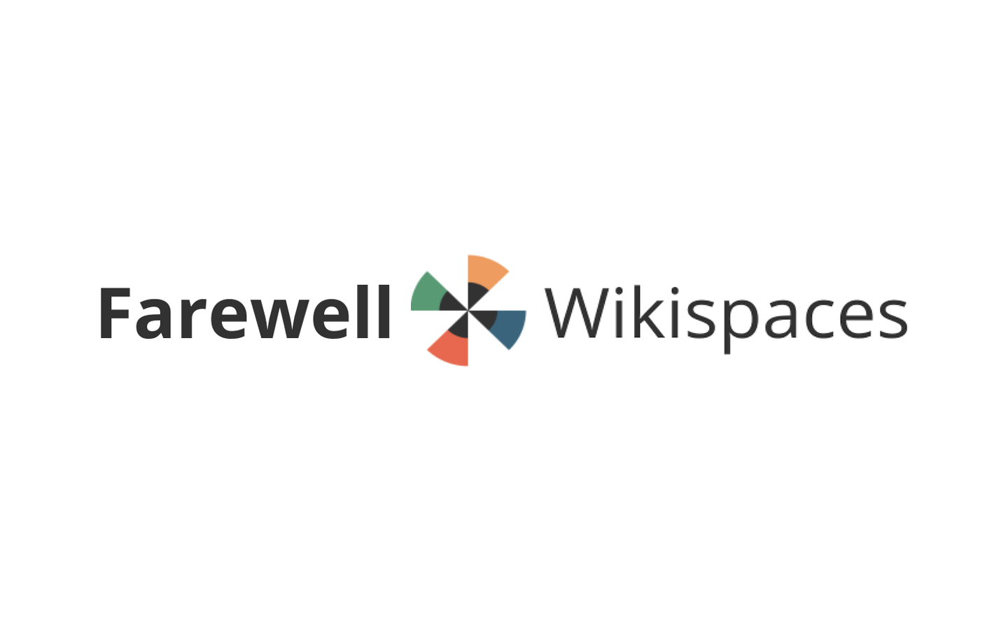 farewell wikispaces
