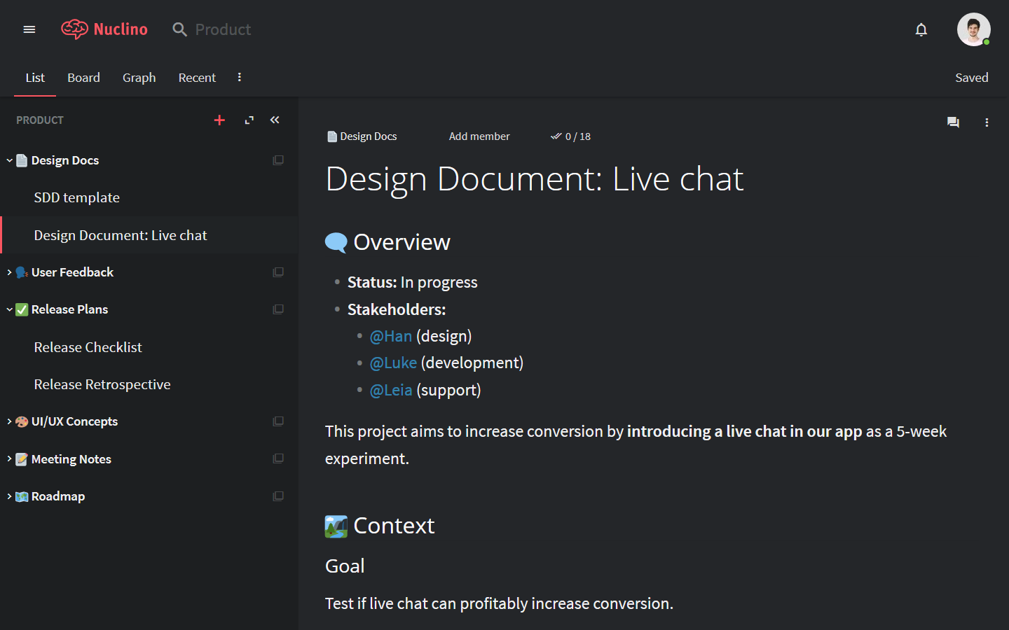 agile-documentation-design-document_outline